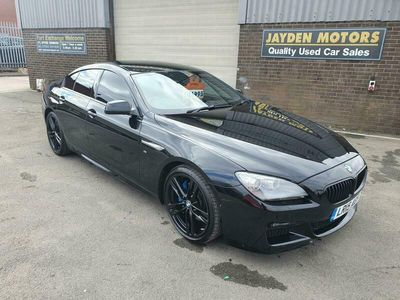 used BMW 640 6-Series Gran Coupe d M Sport 4d Auto