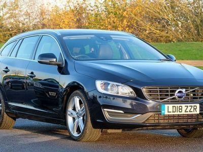 used Volvo V60 D4 SE Lux Nav Auto Winter Ill 2.0 5dr