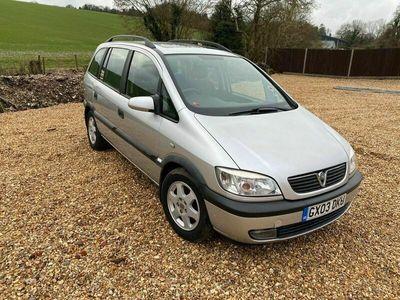 used Vauxhall Zafira 1.8 i 16v Elegance 5dr
