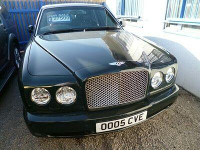 used Bentley Arnage 6.8 T Saloon 4d 6750cc auto