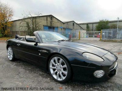 used Aston Martin DB7 Convertible V12 Vantage Volante 2d Auto