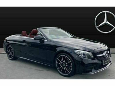 used Mercedes C200 C ClassAMG Line Premium 2dr 9G-Tronic convertible 2019