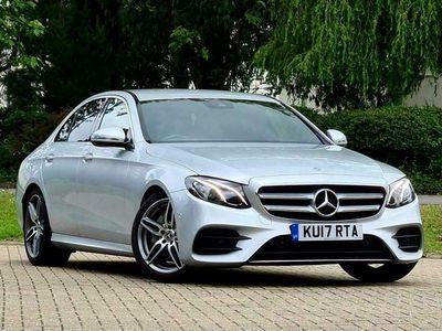 used Mercedes E220 E-Class 2.0dAMG Line (s/s) Saloon 4d
