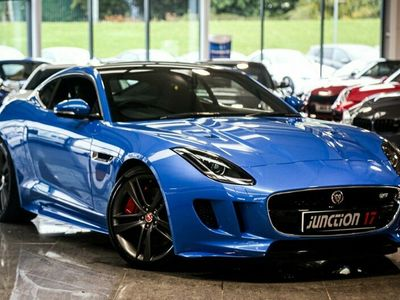 used Jaguar F-Type 3.0 V6 Supercharged British Design Edition (AWD) 2dr Auto