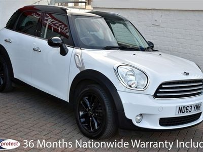 used Mini Cooper Countryman 1.6 5 DOOR 6-SPEED 122 BHP 36 Months Nationwide Warranty