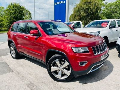 used Jeep Grand Cherokee 3.0 V6 CRD LIMITED 5d 247 BHP