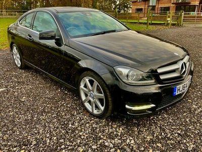 used Mercedes C250 C-Class CoupeCDI AMG Sport Edition (Premium Plus) 2d Auto