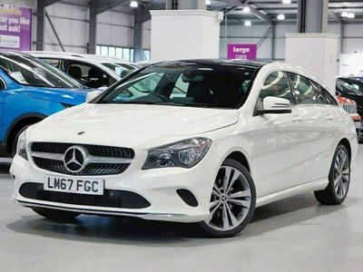 used Mercedes CLA180 Shooting Brake CL Class CLA1.6 SPORT 5DR 2017