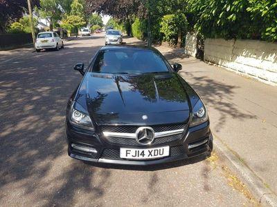 used Mercedes SLK200 SLK 1.8BlueEFFICIENCY AMG Sport 7G-Tronic Plus (s/s) 2dr