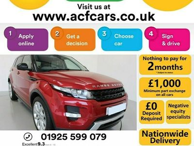 used Land Rover Range Rover evoque Coupe 2.2 SD4 Dynamic Coupe 3d Auto