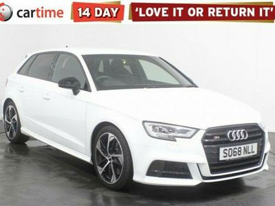 used Audi A3 Sportback 2.0 S3 TFSI QUATTRO BLACK EDITION 5d 296 BHP Service History Your dream car can become a reality with cartime's fantastic finance deals.