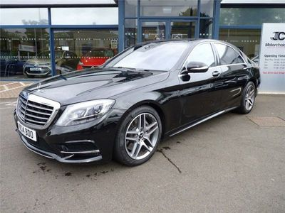 used Mercedes S500L S Class 4.7AMG Line 9G-Tronic Plus (s/s) 4dr