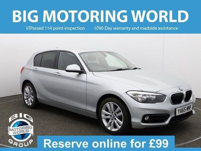 used BMW 120 1 Series D SPORT Hatchback 2016