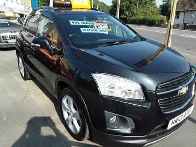used Chevrolet Trax 1.4T LT 5dr AWD