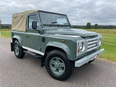 used Land Rover Defender 2.4L 90 COUNTY HARD TOP 2d 122 BHP