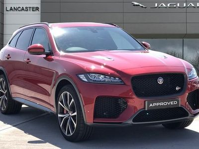 used Jaguar F-Pace 5.0 Supercharged V8 Svr 5Dr Auto Awd