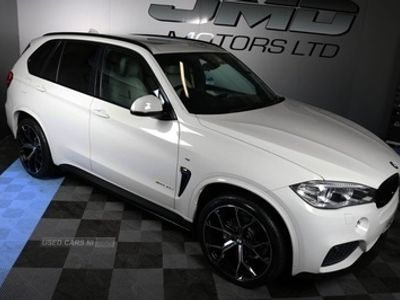 used BMW X5 X5 2015XDRIVE 30D M SPORT M PERFORMANCE KITTED 255 BHP (FINANCE AND WARRANTY)