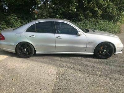 used Mercedes E55 AMG E Class 5.4AMG 4dr