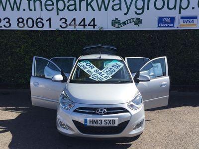 used Hyundai i10 1.2 Active 5dr £20 A YEAR TAX 2013