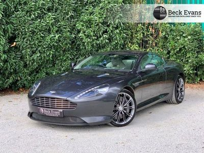 used Aston Martin DB9 5.9 V12 2d 510 BHP CREAM LEATHER SAT NAV