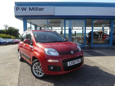 used Fiat Panda 0.9 TwinAir Lounge (s/s) 5dr Low Insurance
