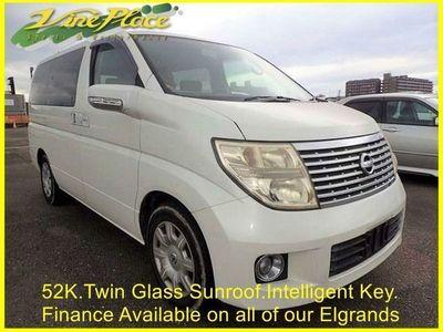 used Nissan Elgrand PETROL AUTOMATIC MPV 5 DOORS