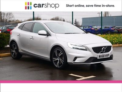 used Volvo V40 T3 [152] R DESIGN Pro 5dr Geartronic Silver Automatic Petrol