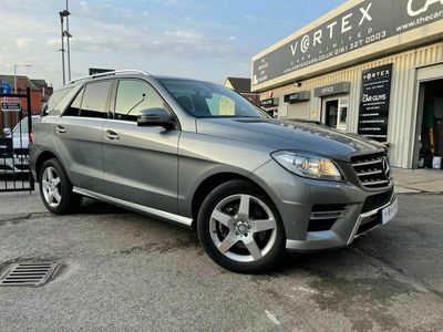 used Mercedes ML350 M-Class 3.0BLUETEC AMG SPORT 5d 258 BHP + NATIONWIDE DELIVERY AVAILABLE +