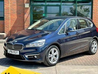 used BMW 218 2-Series Active Tourer i Luxury (Nav) 5d