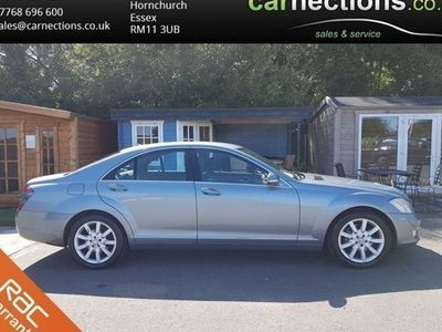 used Mercedes S320 S-Class SaloonCDI 4d Auto