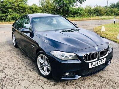 used BMW 530 5 SERIES 3.0 D M SPORT 4d AUTO 255 BHP F/S/H-LEATHER-PRO SAT NAV L SCREEN