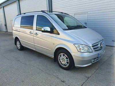 used Mercedes Vito 2.1 CDI Dualiner Compact Panel Van 5dr (5 Seats)