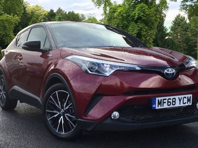 used Toyota C-HR 1.8 Hybrid Red Edition 5dr CVT