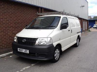 used Toyota HiAce 280 Van 2.5 D-4D 95hp (NO VAT)