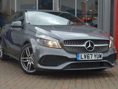 used Mercedes A180 A CLASS 2018 WorksopAMG Line 5dr Auto Hatchback