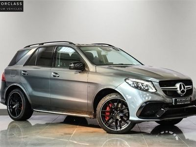 used Mercedes GLE63 AMG GLE 5.5 AMGS 4MATIC PREMIUM 5d 577 BHP