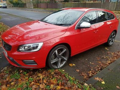 used Volvo V60 2.0 D4 R-Design Lux Nav Geartronic (s/s) 5dr