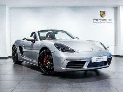 used Porsche Boxster 2.5 S 2dr PDK convertible 2017