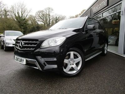 used Mercedes ML250 M-Class 2.1BLUETEC SPORT 5d 204 BHP A BEAUTIFUL EXAMPLE THROUGHOUT