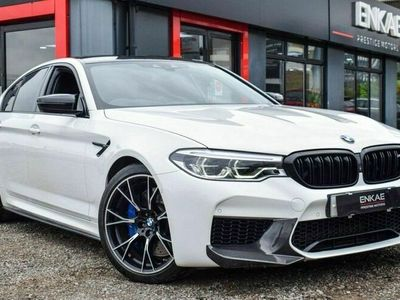 used BMW M5 5-Series SaloonCompetition M Steptronic auto 4d