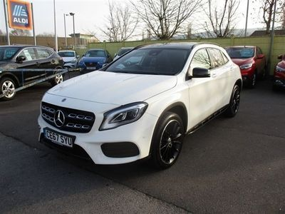 used Mercedes GLA220 GLA Class 2.1D 4MATIC AMG LINE PREMIUM PLUS 5d 174 BHP 5-Door