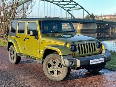 used Jeep Wrangler 2.8 SAHARA UNLIMITED 4d 175 BHP, 2009 ( )