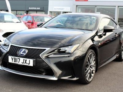 used Lexus RC300h 2.5 300h F Sport CVT (s/s) 2dr coupe
