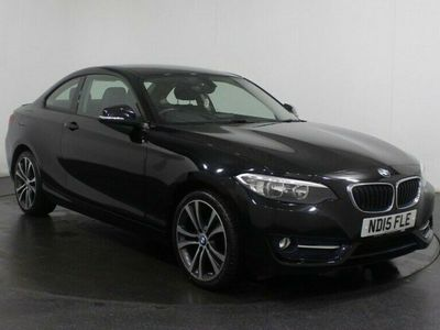 used BMW 218 2 SERIES 1.5 I SPORT 2d 134 BHP SAT NAV Bluetooth Air Con Rear Parking
