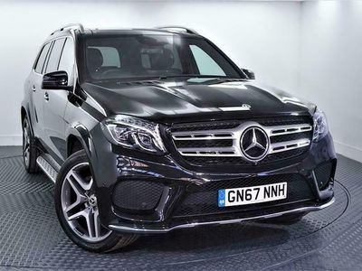 used Mercedes GLS350 GLS Class 3.0V6 AMG Line SUV 5dr Diesel G-Tronic 4MATIC (s/s) (258 ps) Estate 2017