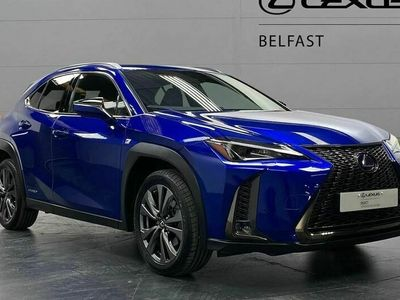 used Lexus UX 250H 2.0 F-Sport 5Dr Cvt [Without Nav]
