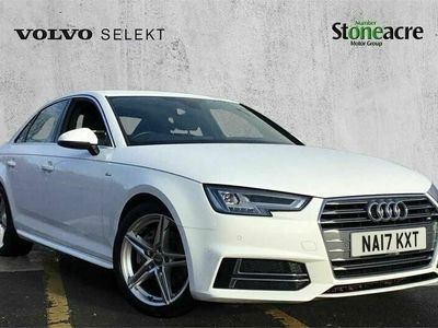 used Audi A4 2.0 TDI (190PS) S Line 4dr