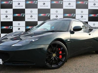 used Lotus Evora 3.5 V6 S SPORTS RACER 4 2d 350 BHP Red Leather-Hea