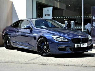 used BMW 640 6 Series d M Sport 2dr Auto Coupe 2016