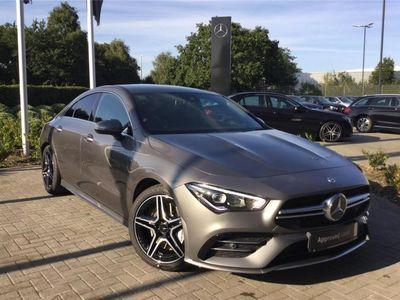 used Mercedes CLA35 AMG CLA AMG COUPE4Matic 4dr Tip Auto